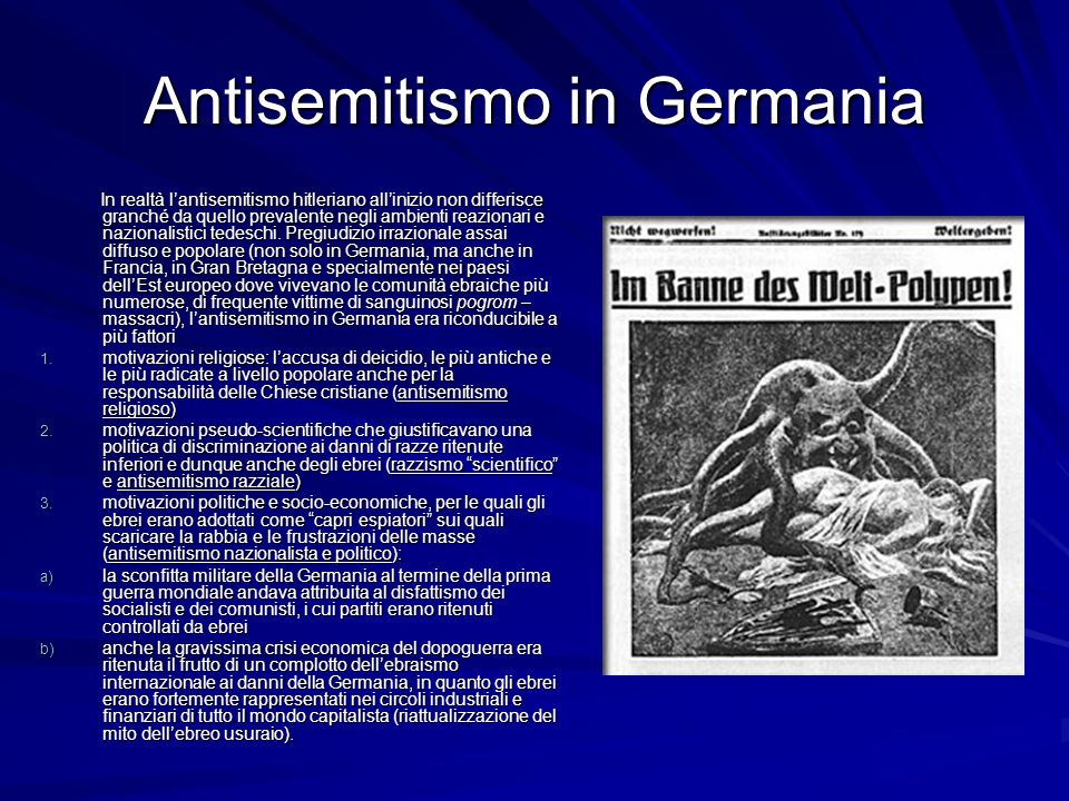 Antisemitismo in Germania
