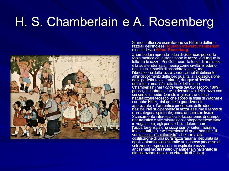H. S. Chamberlain e A. Rosemberg