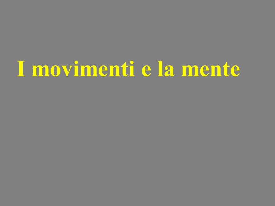 I movimenti e la mente