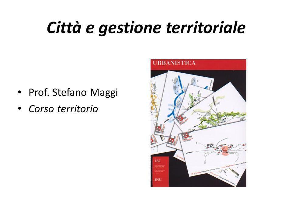 Città e gestione territoriale