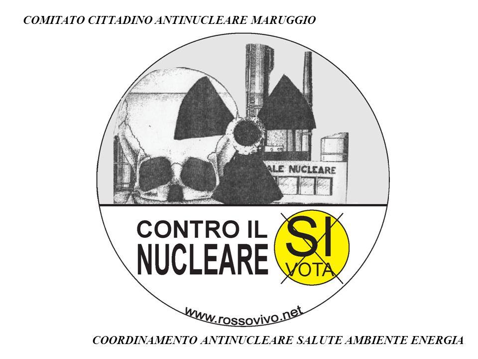 COMITATO CITTADINO ANTINUCLEARE MARUGGIO