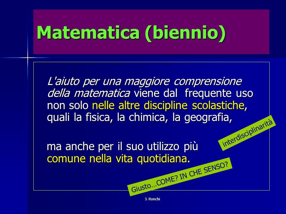 Matematica (biennio)