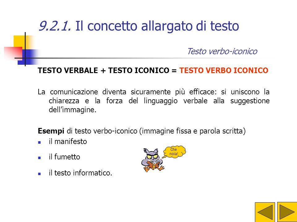 9.2.1. Il concetto allargato di testo