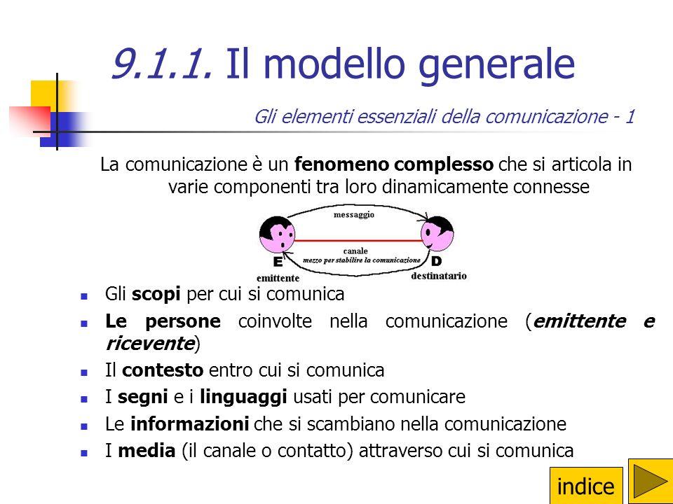 Gli elementi essenziali della comunicazione - 1
