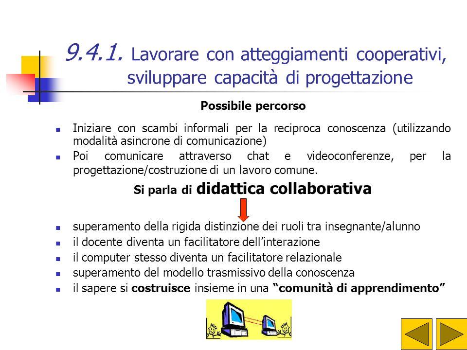 Si parla di didattica collaborativa