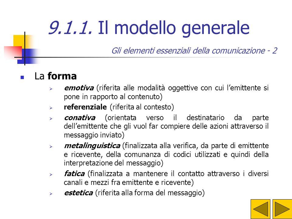 Gli elementi essenziali della comunicazione - 2