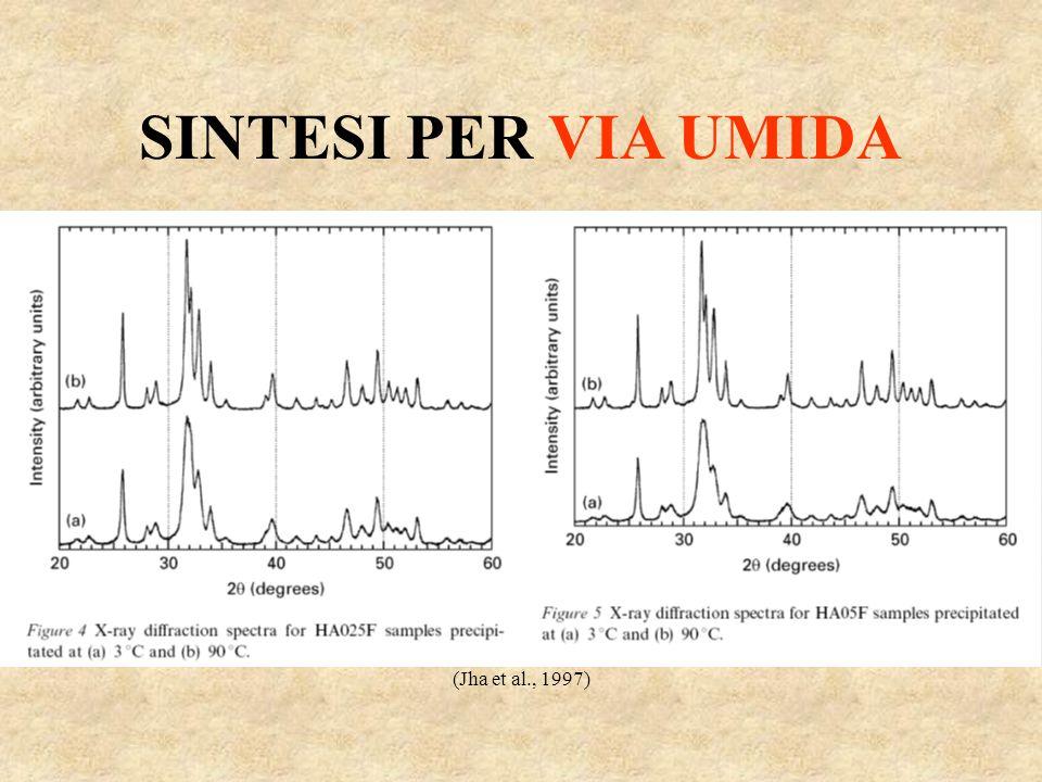 SINTESI PER VIA UMIDA (Jha et al., 1997)