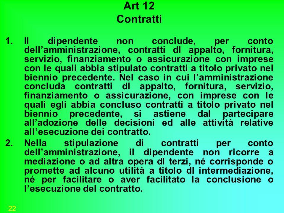Art 12 Contratti.
