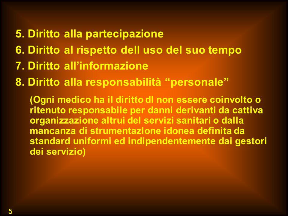 5. Diritto alla partecipazione