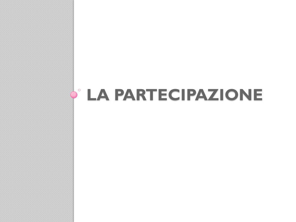 La partecipazione