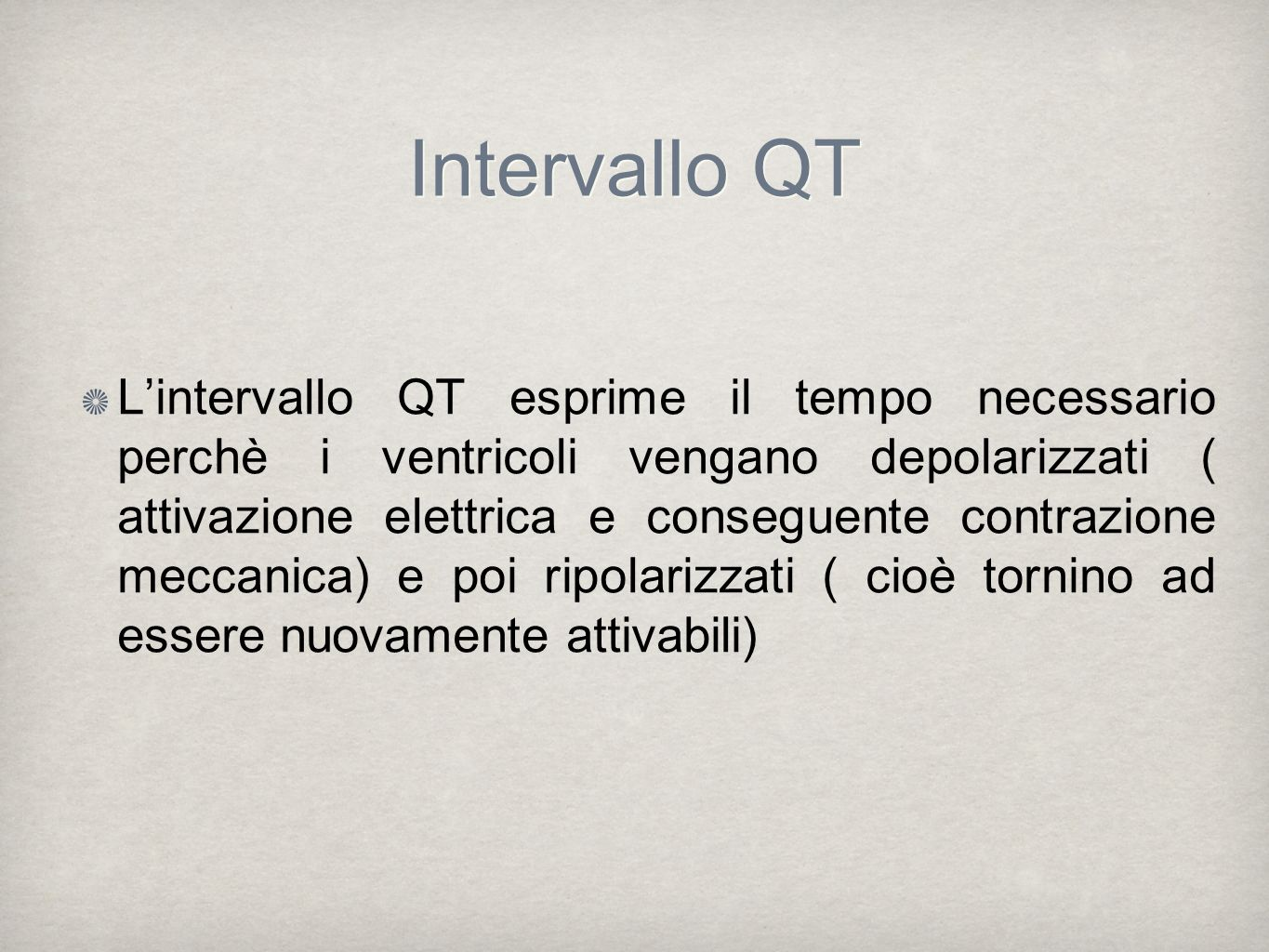 Intervallo QT