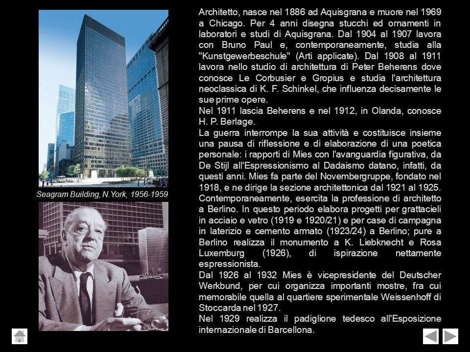 Nel 1911 lascia Beherens e nel 1912, in Olanda, conosce H. P. Berlage.
