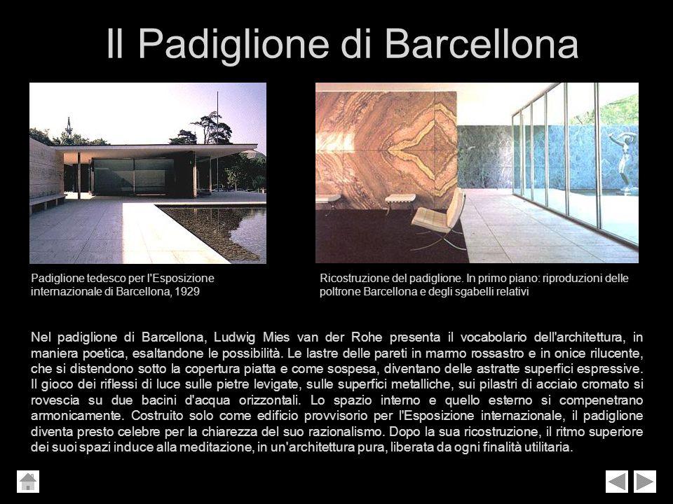 Il Padiglione di Barcellona