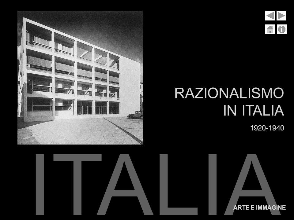 RAZIONALISMO IN ITALIA