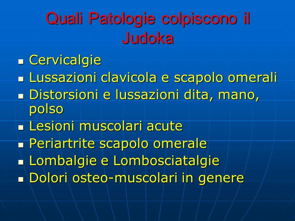 Quali Patologie colpiscono il Judoka