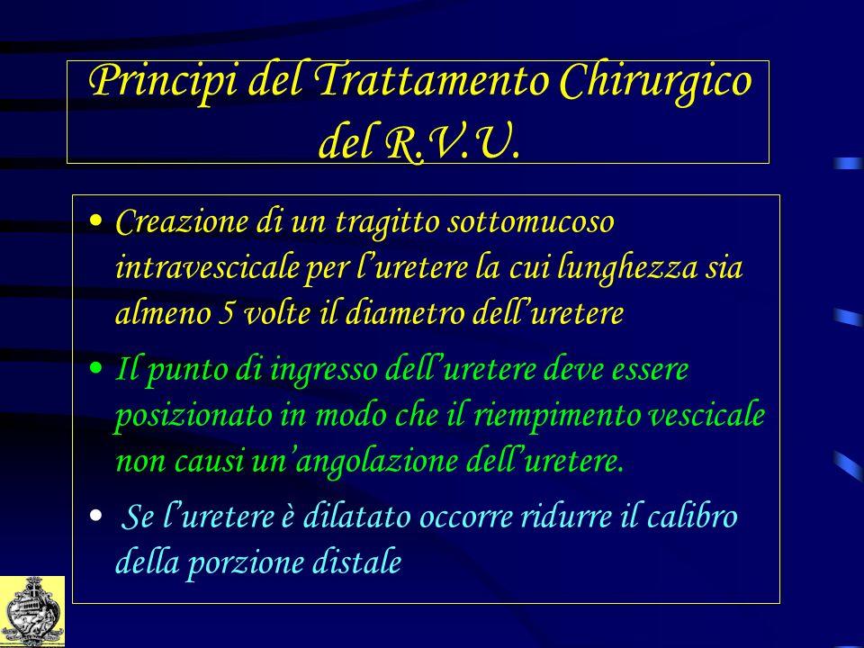 Principi del Trattamento Chirurgico del R.V.U.