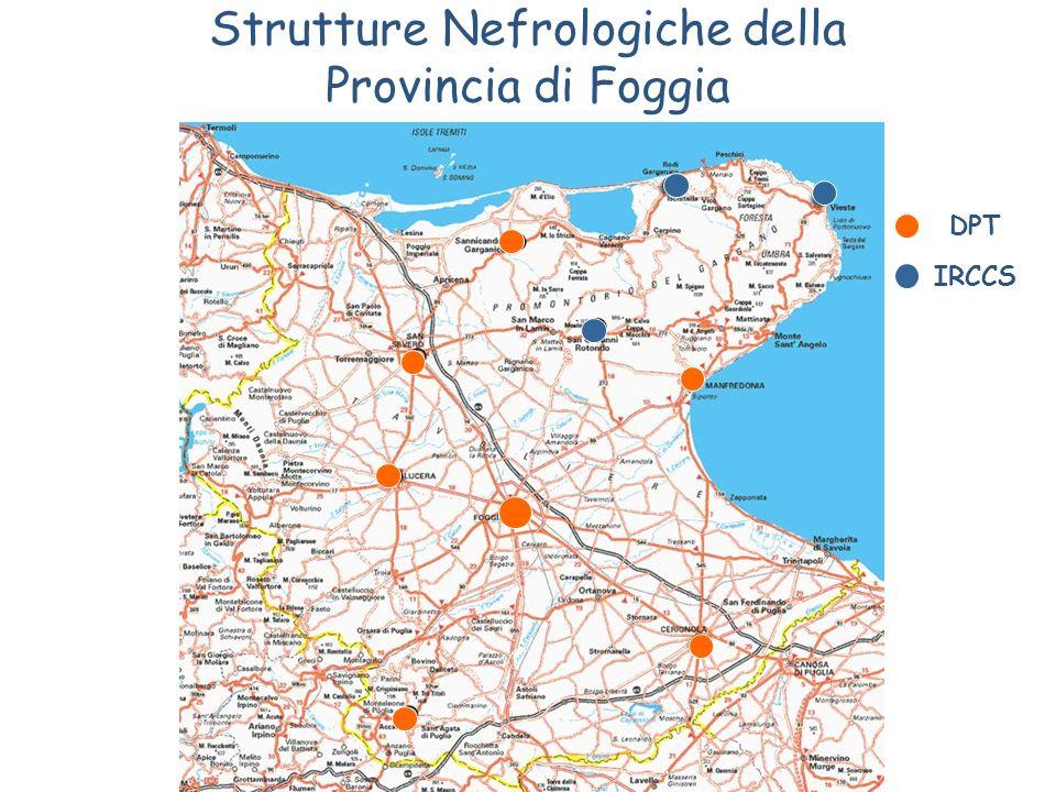 Strutture Nefrologiche della Provincia di Foggia