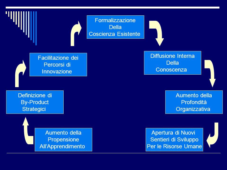 Formalizzazione Della. Coscienza Esistente. Diffusione Interna. Della. Conoscenza. Facilitazione dei.
