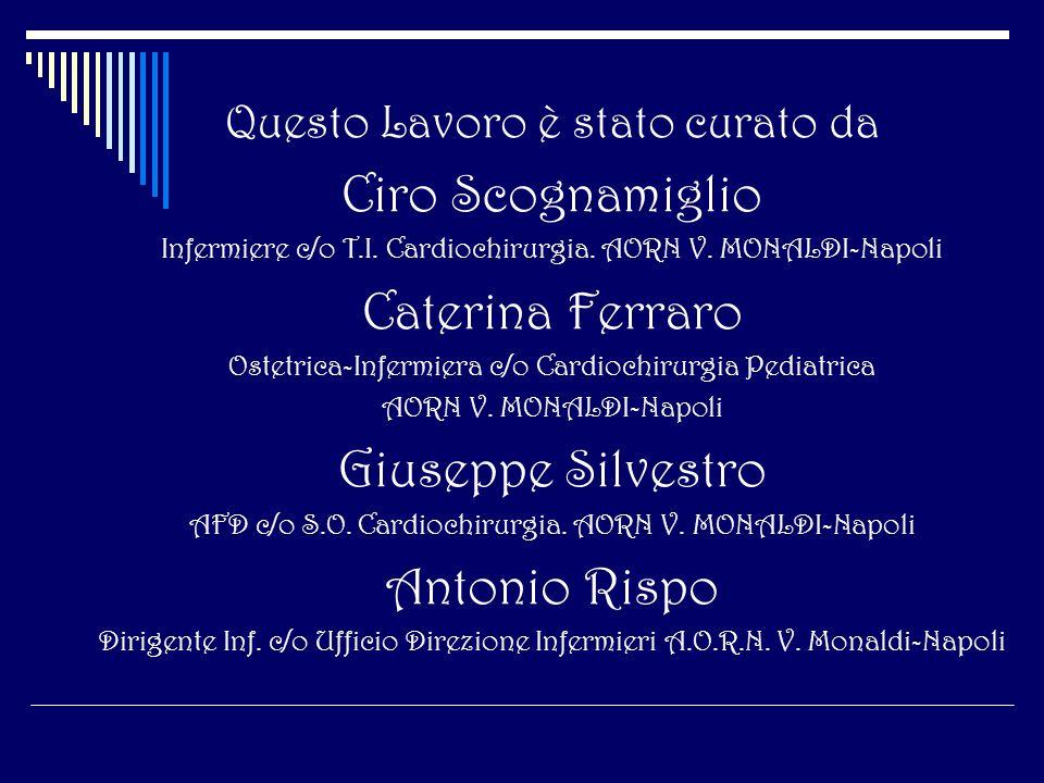 Ciro Scognamiglio Caterina Ferraro Giuseppe Silvestro Antonio Rispo