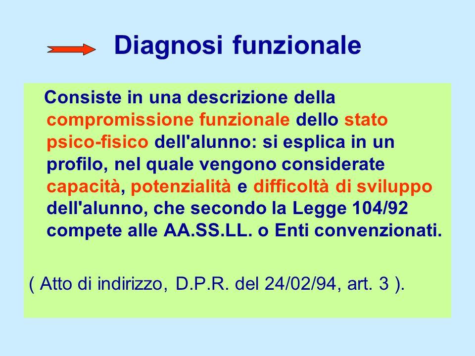 Diagnosi funzionale