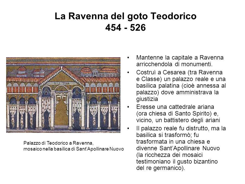 La Ravenna del goto Teodorico 454 - 526