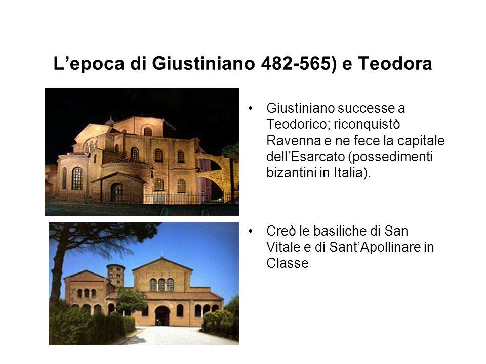 L'epoca di Giustiniano 482-565) e Teodora