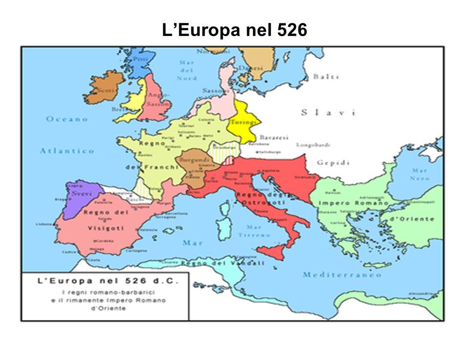 L'Europa nel 526