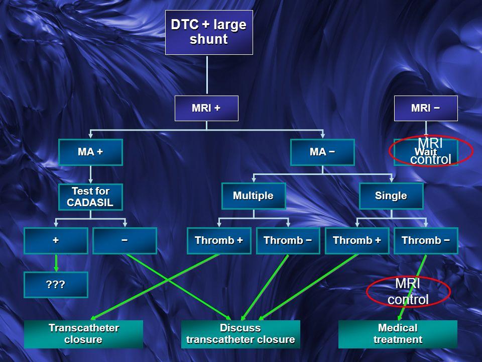 Transcatheter closure transcatheter closure