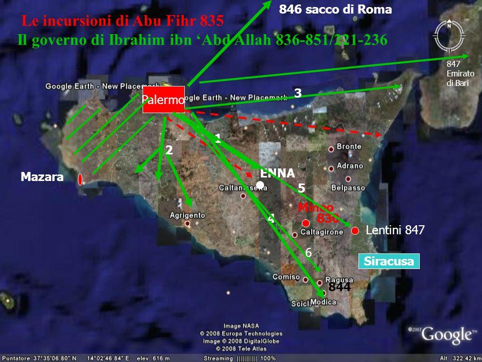 Le incursioni di Abu Fihr 835