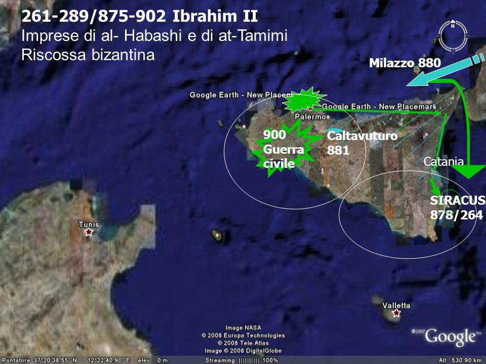 Imprese di al- Habashi e di at-Tamimi Riscossa bizantina