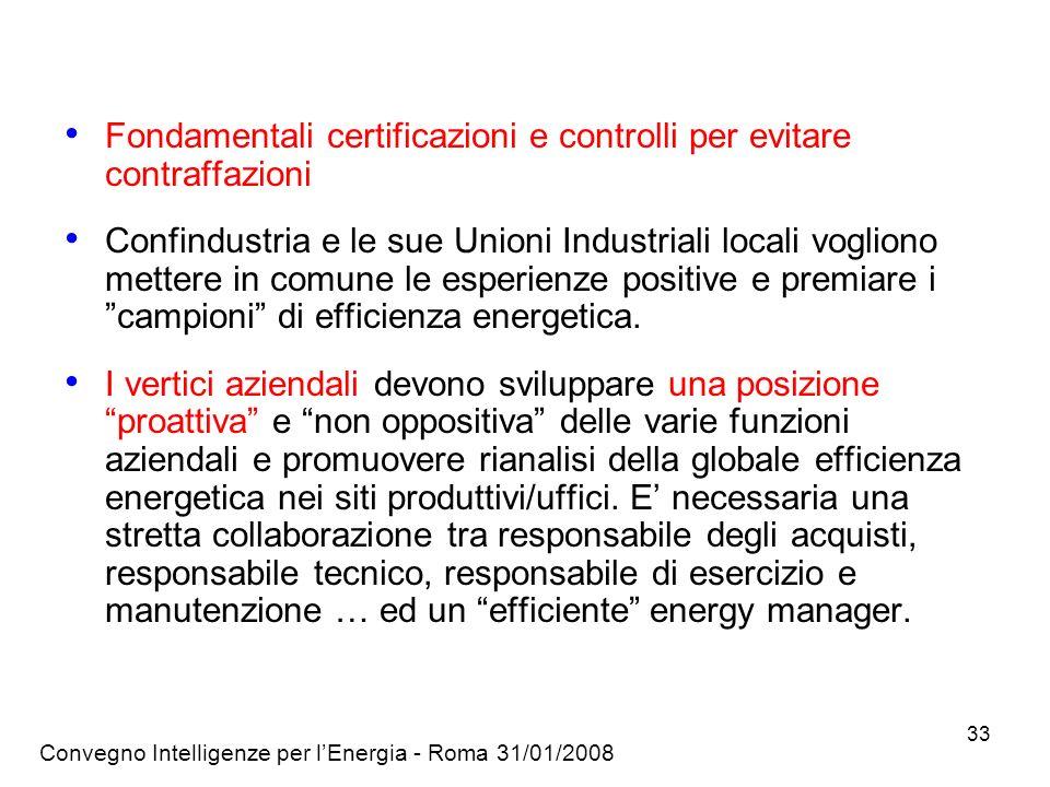 Fondamentali certificazioni e controlli per evitare contraffazioni