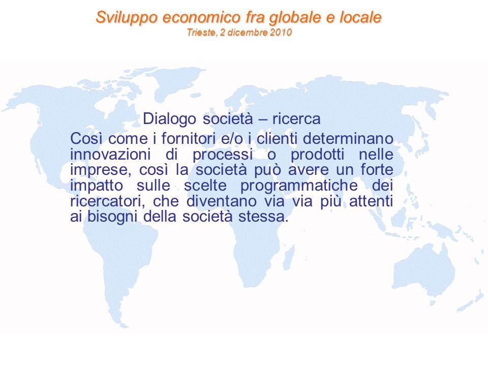 Dialogo società – ricerca