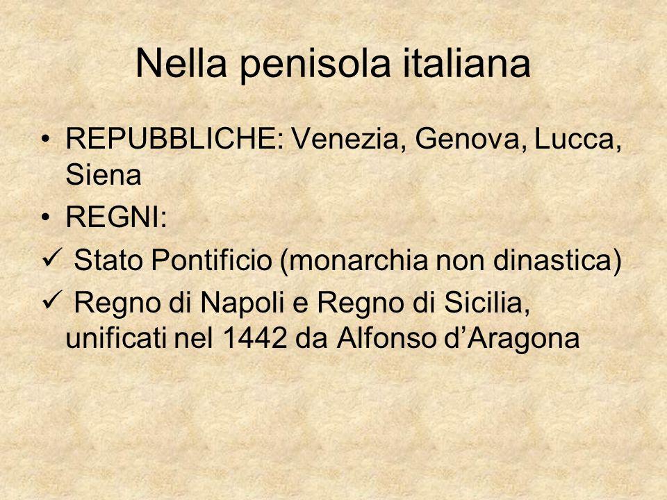 Nella penisola italiana
