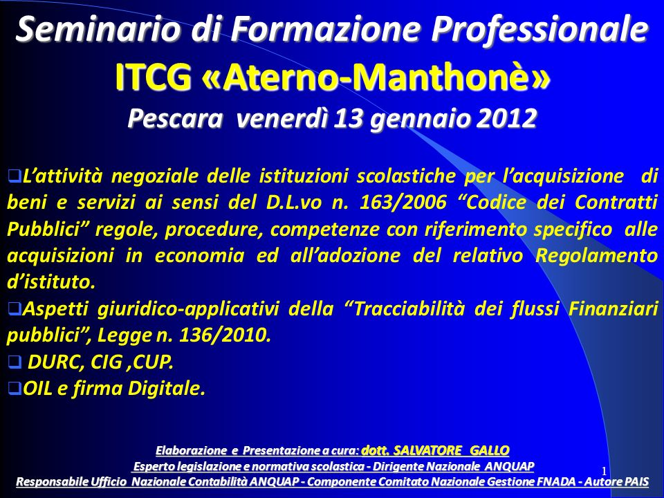 ITCG «Aterno-Manthonè»