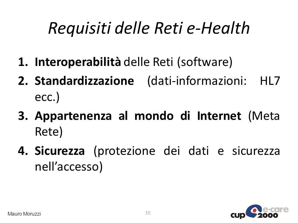 Requisiti delle Reti e-Health