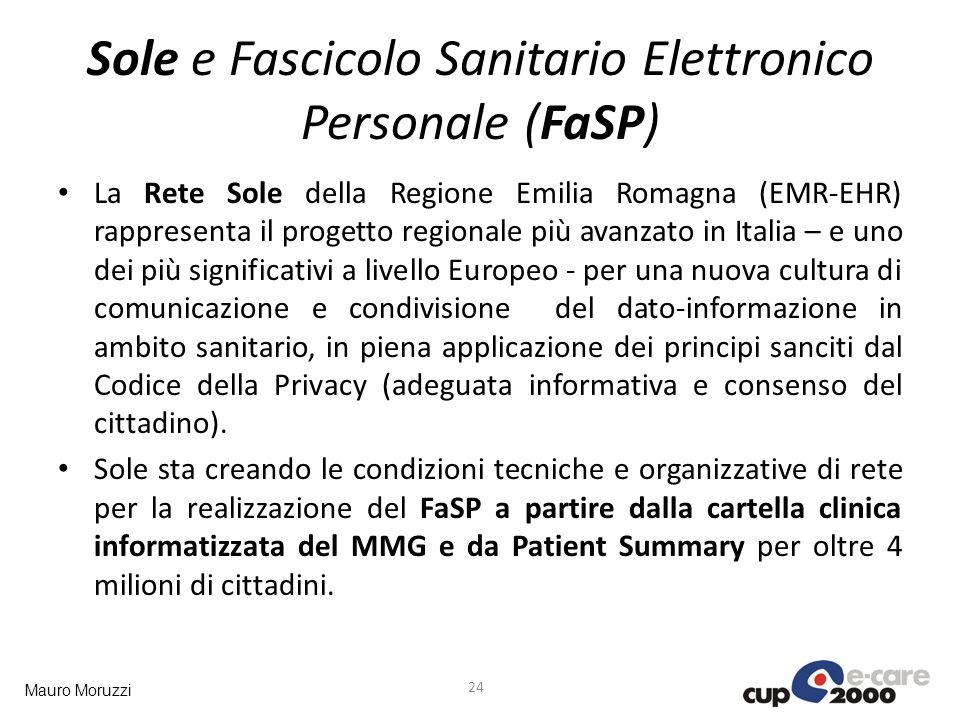 Sole e Fascicolo Sanitario Elettronico Personale (FaSP)