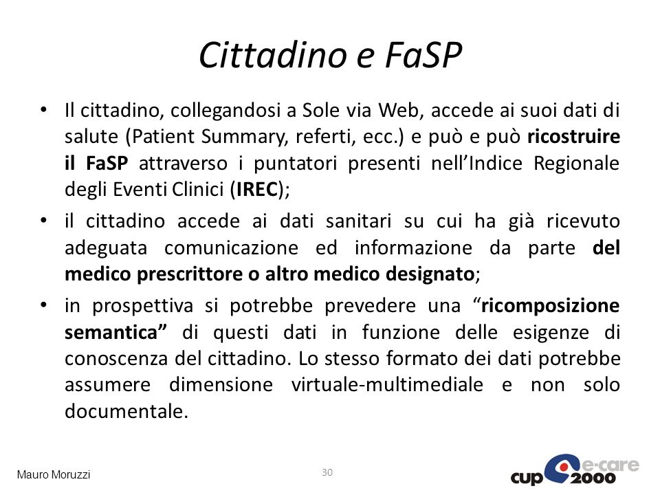 Cittadino e FaSP