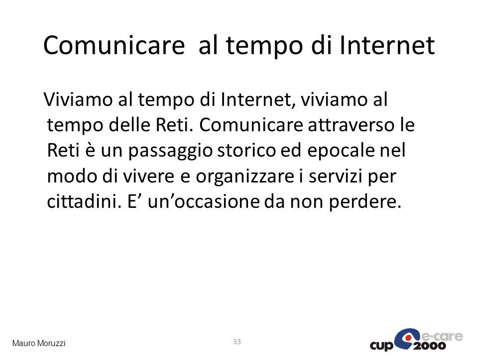 Comunicare al tempo di Internet