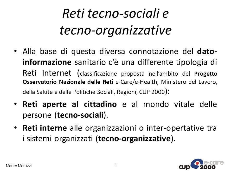 Reti tecno-sociali e tecno-organizzative