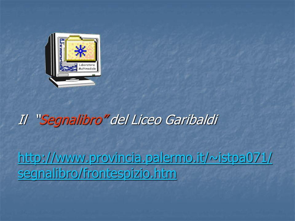 Il Segnalibro del Liceo Garibaldi