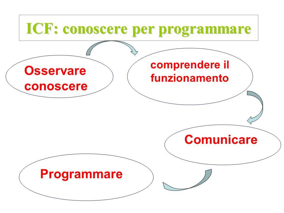 ICF: conoscere per programmare comprendere il funzionamento