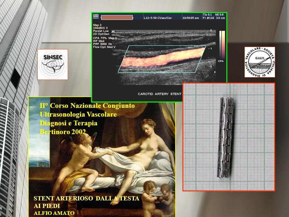 II° Corso Nazionale Congiunto Ultrasonologia Vascolare Diagnosi e Terapia