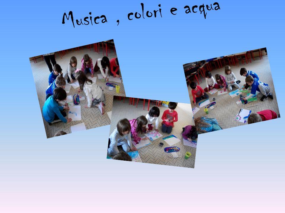 Musica , colori e acqua