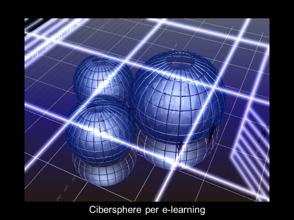 Cibersphere per e-learning
