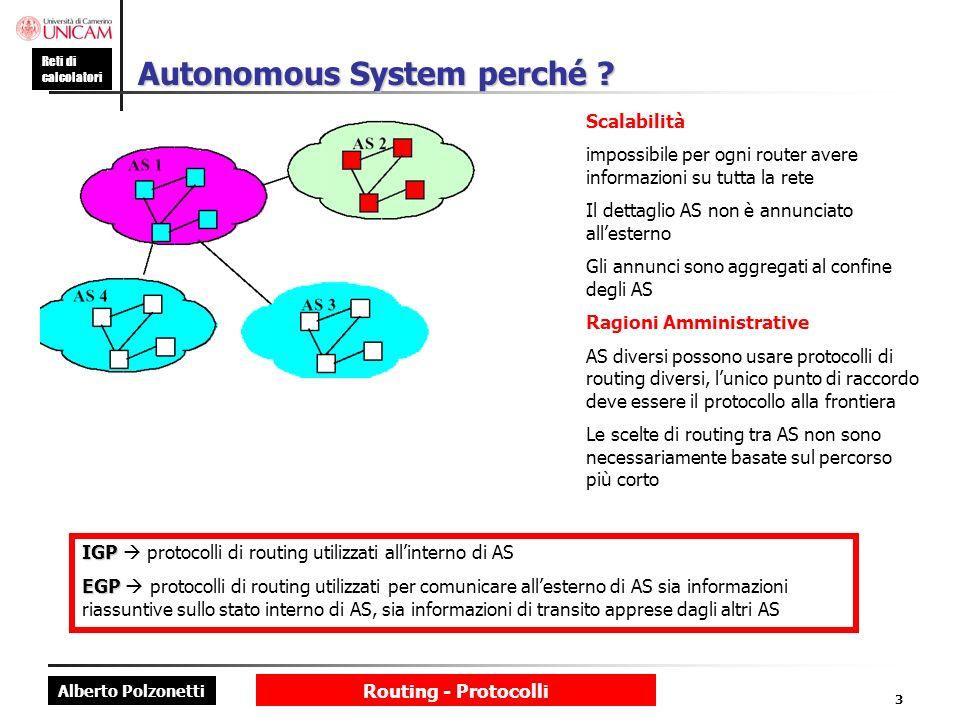 Autonomous System perché