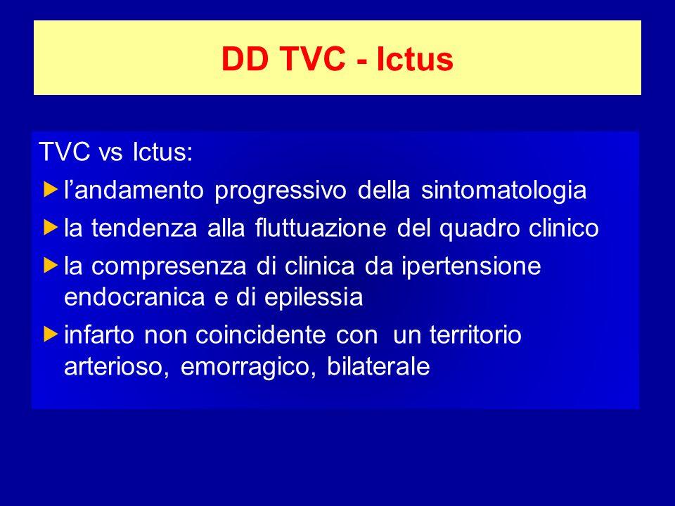 DD TVC - Ictus TVC vs Ictus: