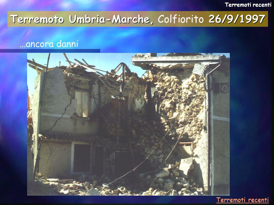 Terremoto Umbria-Marche, Colfiorito 26/9/1997