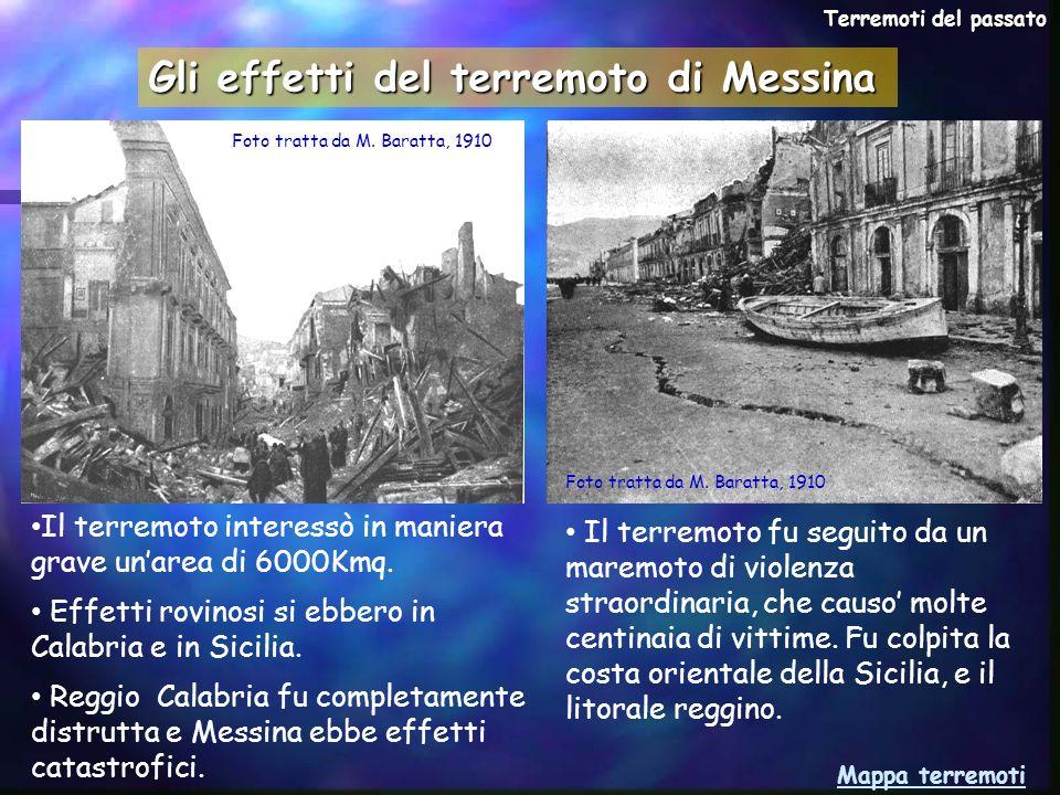 Gli effetti del terremoto di Messina
