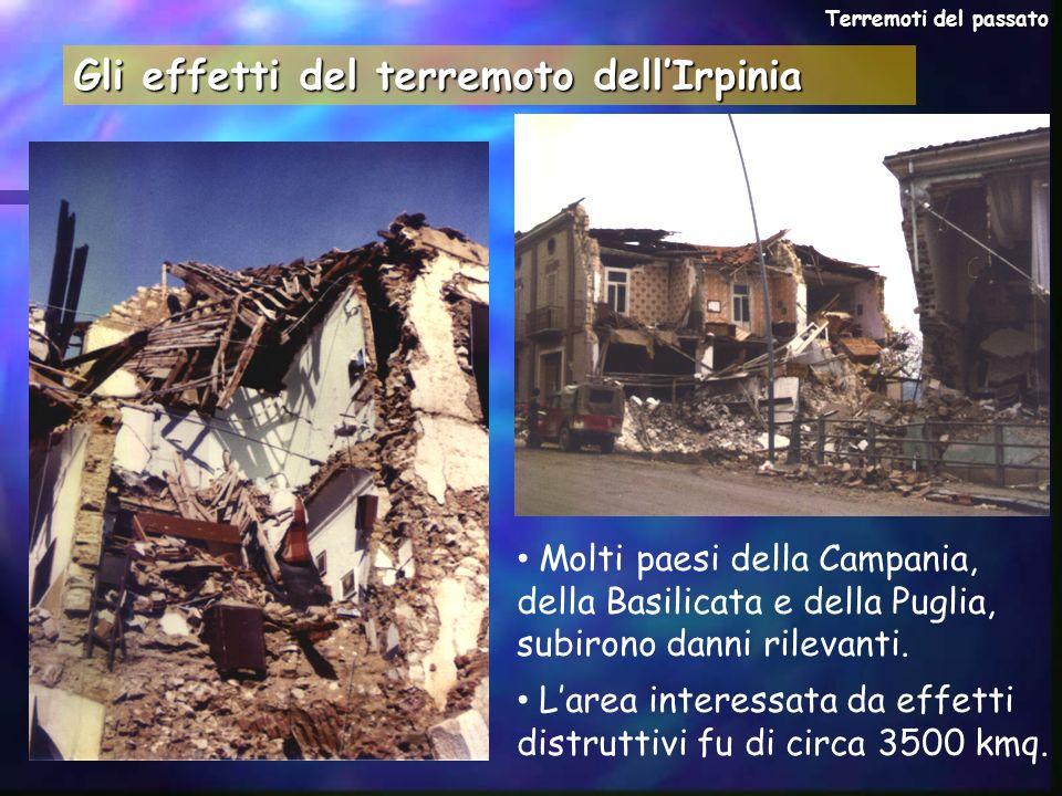 Gli effetti del terremoto dell'Irpinia