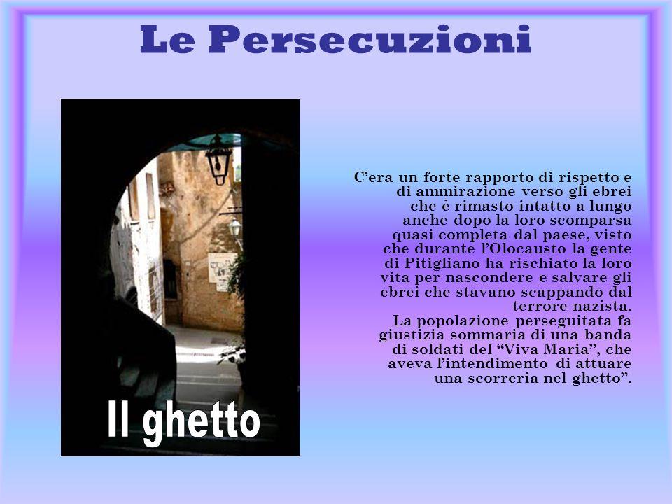Le Persecuzioni Il ghetto
